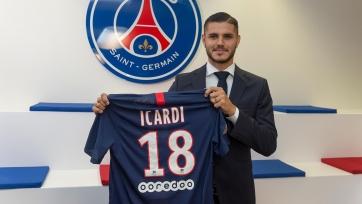 Официально: Икарди – игрок «ПСЖ»