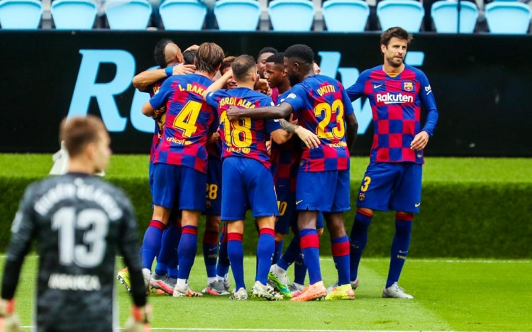 «Сельта» – «Барселона» – 2:2. Текстовая трансляция матча