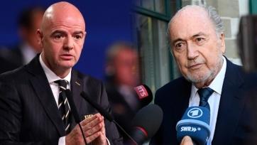 Блаттер уличил нынешнего главу ФИФА Инфантино в мании величия