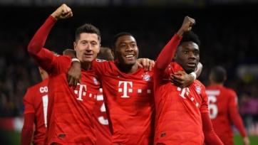 «Бавария» в гостях одержала волевую победу над «Байером»