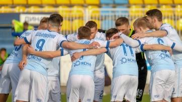 «Динамо» Минск, благодаря голу Шикавки, добыл три очка против «Славии» Мозырь