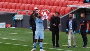 Диего Коста посвятил свой гол футболистке «Атлетико», которой удалили раковую опухоль в мозгу. Фото