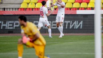 Соболев отметился премьерным голом за «Спартак»