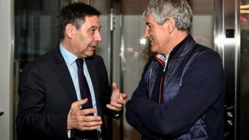Дом Сетьена посетили Бартомеу и другие руководители «Барселоны»