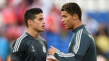 Хамес: «Роналду – это самый беспощадный футболист мира»