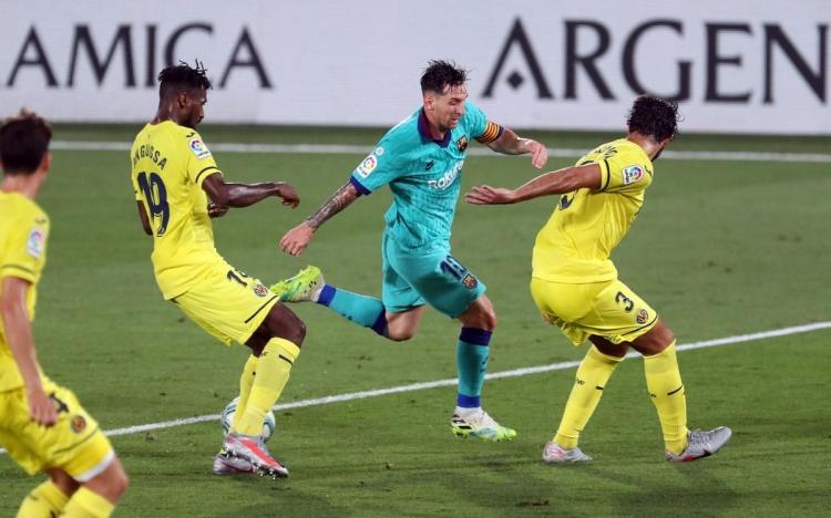 «Вильярреал» – «Барселона» - 1:4. 05.07.2020. Чемпионат Испании. Обзор и видео матча