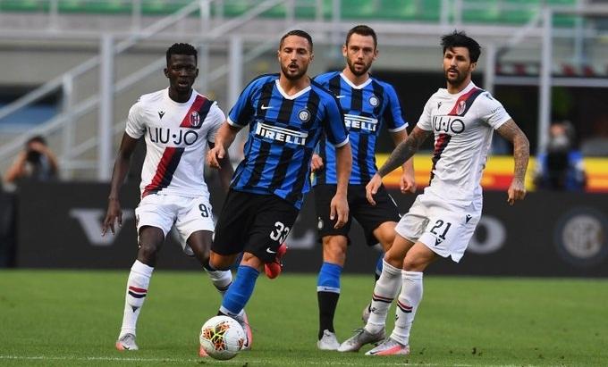 «Интер» – «Болонья» - 1:2. 05.07.2020. Чемпионат Италии. Обзор и видео матча