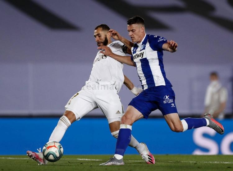 «Реал» – «Алавес» - 2:0. 10.07.2020. Чемпионат Испании. Обзор и видео матча