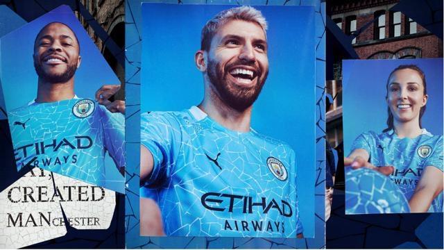 «Горожане» Манчестера стали «мозаичными». Клуб представил форму сезона-2020/2021. Фото