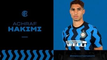 Официально: Хакими перешел из «Реала» в «Интер»
