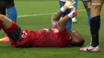 Оспина получил жуткую травму. Фото