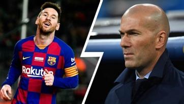 Зидан не хочет, чтобы Месси покидал чемпионат Испании