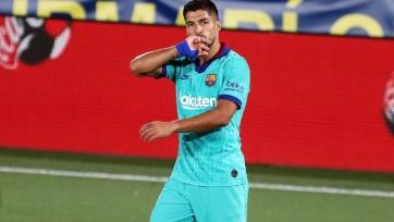 Суарес вошел в топ-3 бомбардиров «Барселоны» в истории