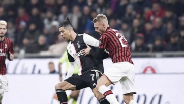 «Милан» - «Ювентус» - 4:2. Текстовая трансляция матча