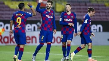 «Барселона» – «Эспаньол» - 1:0. 08.07.2020. Чемпионат Испании. Обзор и видео матча