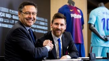 Месси останется в «Барселоне» и после завершения карьеры