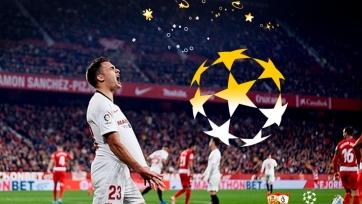 «Севилья» завоевала путевку в группу Лиги чемпионов-2020/2021