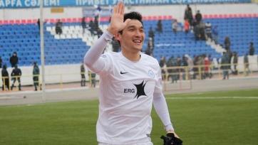 Игрок сборной Казахстана Ахметов может сменить клуб в КПЛ
