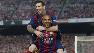 Алвес: «Месси сейчас тянет «Барселону» на себе»