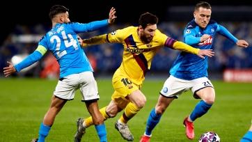 «Наполи» хочет сыграть против «Барселоны» в Португалии