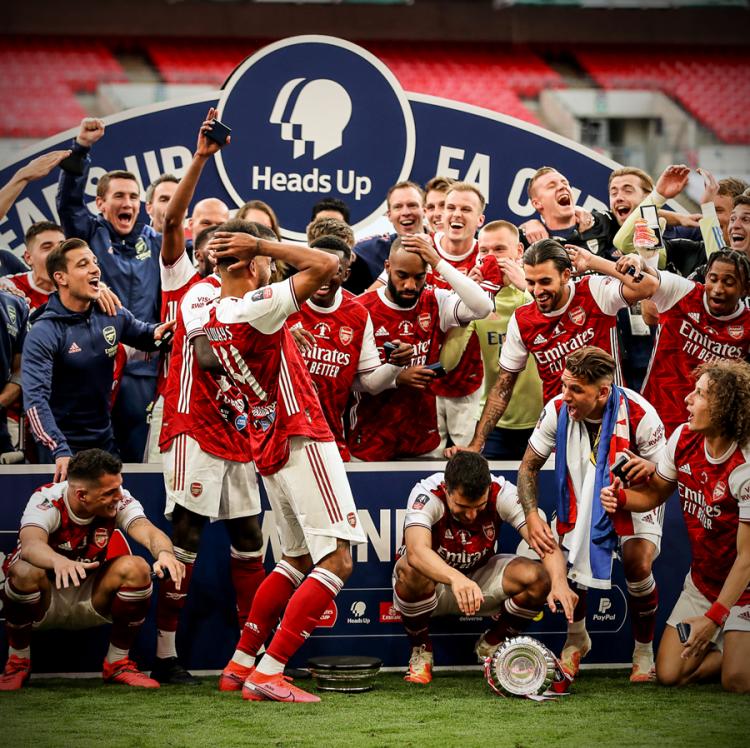 «Арсенал» завоевал Кубок Англии-2019/20!