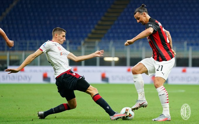 «Милан» – «Кальяри» – 3:0. 01.08.2020. Обзор и видео матча