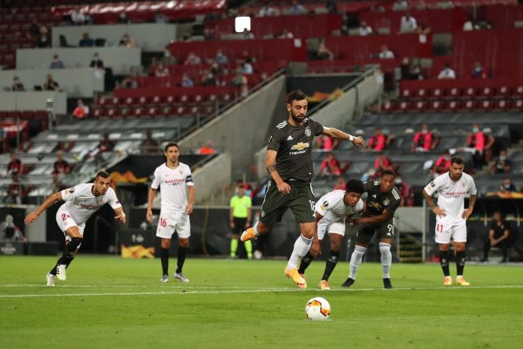 «Севилья» одержала волевую победу над «Манчестер Юнайтед»