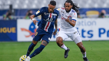«ПСЖ» в серии пенальти обыграл «Лион» в финале Кубка лиги