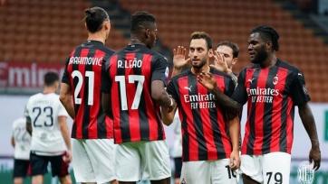 «Милан» завершил сезон в Серии А лучшей серией за последние 28 лет