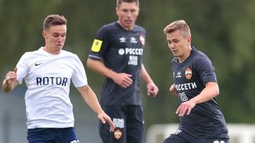 ЦСКА и «Ротор» разошлись миром в спарринге
