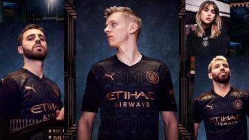 «Манчестер Сити» презентовал новую гостевую форму. Фото и видео