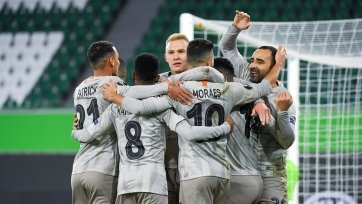 «Шахтер» обыграл «Вольфсбург» и вышел в четвертьфинал Лиги Европы