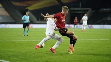 «МЮ» благодаря пенальти в экстра-тайме прошел в полуфинал Лиги Европы