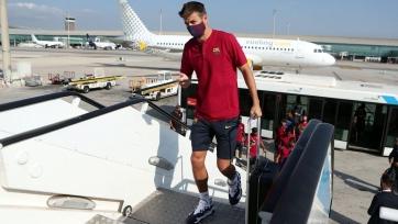 «Барселона» и «Бавария» прибыли в Лиссабон. Фото и видео