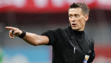 Арбитра Казарцева отстранили от работы на неопределенное время