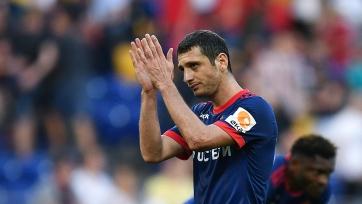 ЦСКА отчитался о травме Дзагоева