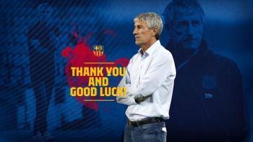 Официально. Сетьен уволен с поста главного тренера «Барселоны»
