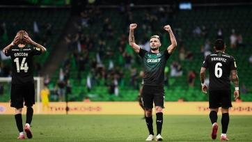 «Краснодар» забил два безответных гола «Арсеналу»