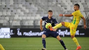 «Бордо» и «Нант» не забили голов в матче-открытии нового сезона Лиги 1