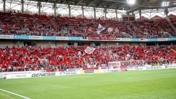 «Спартак» лишится фанатской трибуны на один из домашних матчей