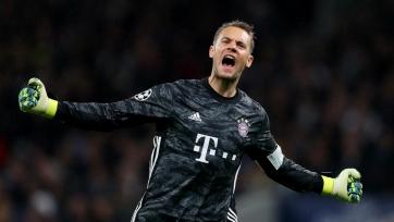 Нойер признан лучшим игроком недели в Лиге чемпионов