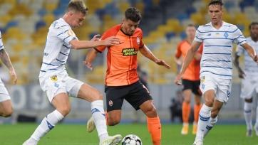 «Динамо» Киев выиграло Суперкубок Украины