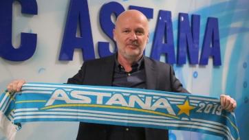 «Астана» уволила наставника команды