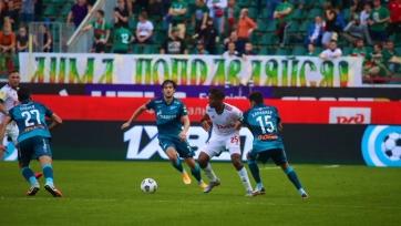 Скучный матч «Локомотива» и «Зенита» завершился без забитых мячей