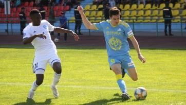 «Астана» не сумела обыграть «Тараз»