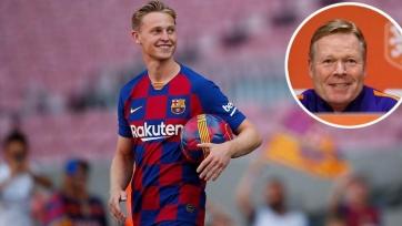 Де Йонг: «Я должен доказать Куману, что достоин места в старте в «Барселоне»