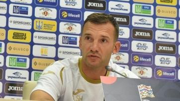 Шевченко включил в состав Украины на матч со швейцарцами двух новичков