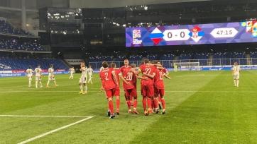 Россия начала Лигу наций с уверенной победы над Сербией