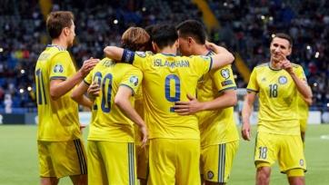 Казахстан обыграл Литву в Лиге наций