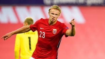Холанд отметился премьерным голом за сборную Норвегии